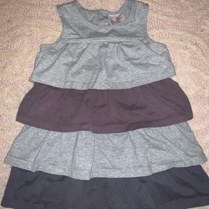 Hanna Andersson size 100 (4T) tiered knit dress